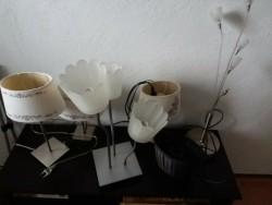 1 Langkamp en 4 staande lampen