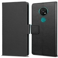 Just in Case Nokia 6.2 / 7.2 Wallet Case - Zwart