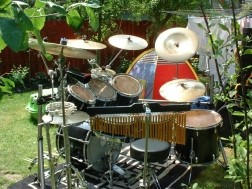 Pearl drumstel Zildjan bekkens