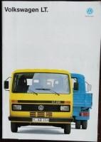 Folder/brochure - Volkswagen LT - 1992