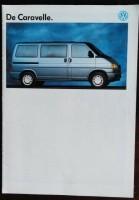 Folder/brochure - Volkswagen De Caravelle -1992
