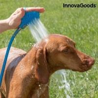 InnovaGoods Tuinslang-Borstel voor Huisdieren