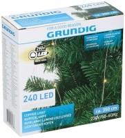 Lichtsnoer koper 240 LED - warm wit - 8 functies  Alleen de…
