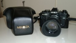 Fotocamera's analoog + acc.