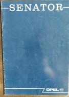 Folder/brochure - OPEL Senator 1988