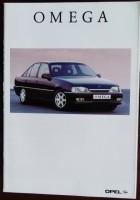 Folder/brochure - Opel Omega 1992