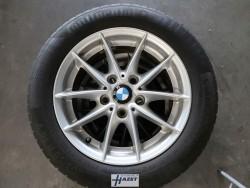 BMW 1-serie 16 inch lichtmetalen velgen + zomerbanden