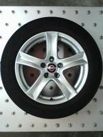 10078 Set 17 inch Nissan Qashqai wielen IZGST!! 5x114,3