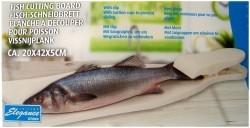 Vis snijplank  Alleen deze week 10% extra korting