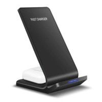 Qi Desk Stand / Draadloze Oplader 15W - Type C Universeel T…