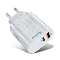 2-Poort  USB Oplader - 36W PD Fast Charging / Quick Charge…
