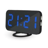 Multifunctionele Digitale LED Klok - Wekker Spiegel Alarm…