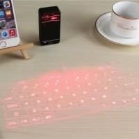 Draadloos Mini Laser Toetsenbord - Pocket Draagbaar Virtuee…