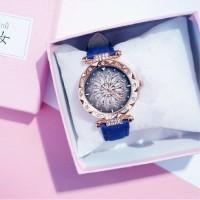 Starry Sky Horloge Dames - Luxe Anoloog Kwarts Uurwerk voor…