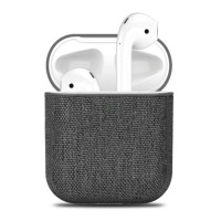 Canvas Stoffen Hoesje voor AirPods 1 / 2 - Ultra Thin Fabri…
