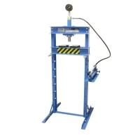 Werkplaatspers 12 ton manometer hoog