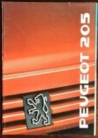 Folder/brochure - Peugeot 205 -1989