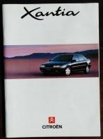 Folder/brochure - CITROËN Xantia