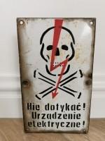 Danger Bord Polen