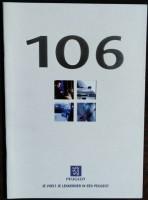Folder/brochure - Peugeot 106