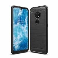 Just in Case Rugged TPU Nokia 6.2 / 7.2 Case - Zwart