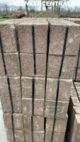 21012 340m2 rood dikke betontegels 30x30x8cm bestrating sto…