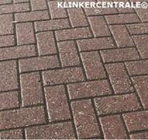 21021 ROOIKORTING 250m2 rood betonklinkers keiformaat straa…