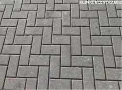 21019 ROOIKORTING 1.500m2 grijs betonklinkers keiformaat st…