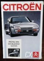 Folder/brochure - CITROËN CX - 1988