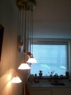 halogeen  plafond lamp