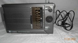 Cosmel portable radio MW/FM