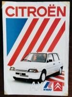 Folder - CITROËN AX K-Way 1988