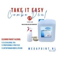 Medisept Cleaning Pakket - 1 x Alcohol 70% - 1 x Sprayfles…