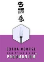 Podomonium Keramische Frees White Cobra Course