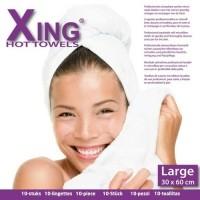 Xing Hot Towel / Compress Doek 30x60 Licht Blauw