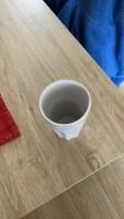 Drinkmokken porselein 6x