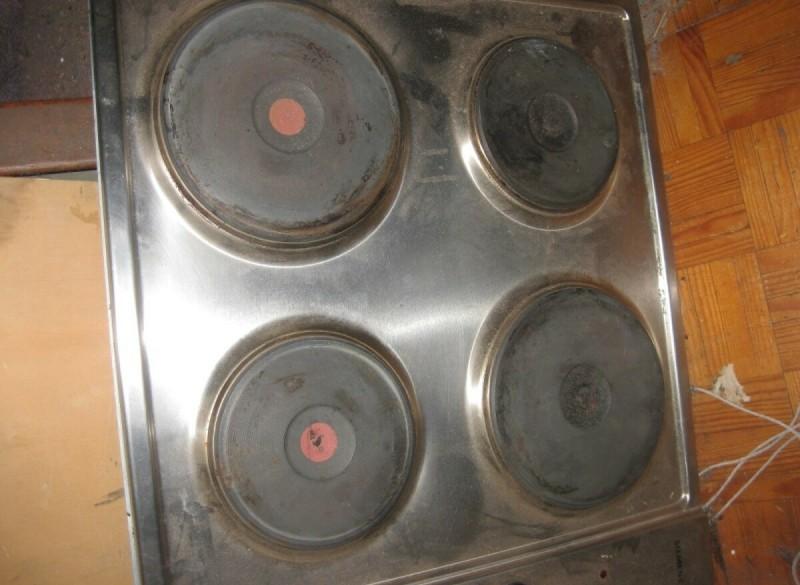 elektrische inbouw kookplaat van Siemens