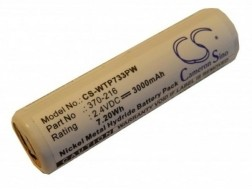 Accu Wahl 2,4v 3000mAh 3.0Ah Ni-MH ISO-Tip 7733 Replacement