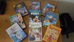 Kinder DVD's o.a. Disney Films