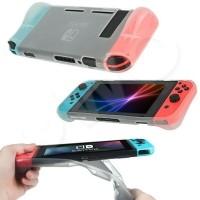 beschermende soft cover voor de Nintendo Switch - goede cas…