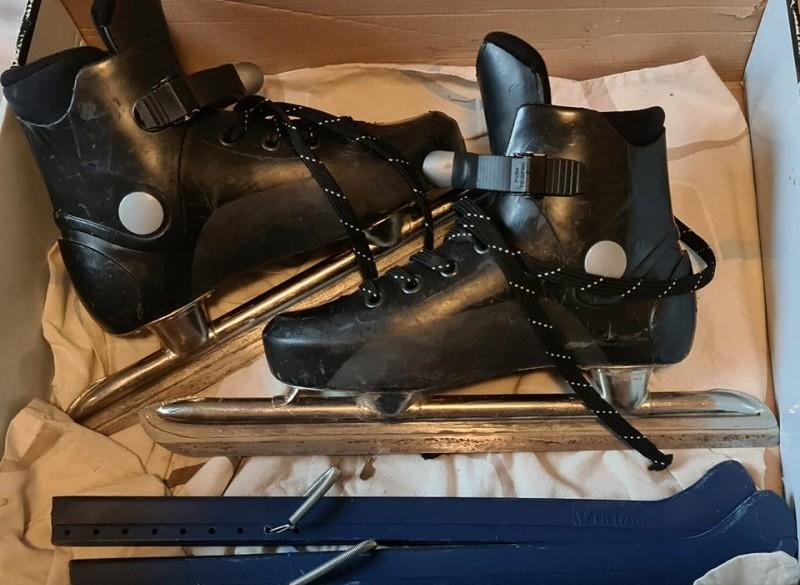 Viking hardboot combinoren schaats schaatsen maat 36