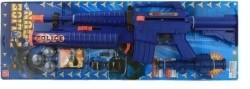 Jonotoys Politiegeweer 6-delig Blauw