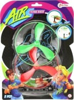 Toi-toys Flying Discs Air 12 Cm Groen/rood 3-delig