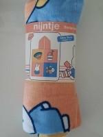 Nijntje badponcho - 100% katoen - roze/geel/blauw - One siz…