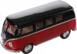 Goki Volkswagen Classic Bus Rood / Zwart (1962) 13 Cm