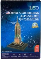 Empire State Building 3D-puzzel met led-verlichting