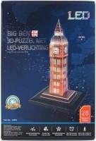 Big Ben 3D Puzzel met Ledverlichting