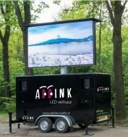 Mobiele LED videoschermen te huur