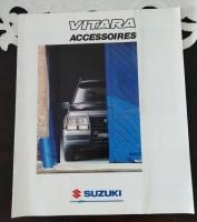 Folder - SUZUKI Vitara Accessoires -1988