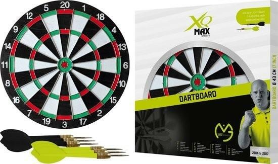 XQ Dartbord Michael van Gerwen Incl. 6 pijlen - Ø 43 cm